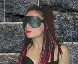145 Fur Lined Deluxe Blindfold