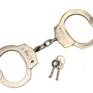436 Double Lock Professional Handcuffs (Chrome Plated)