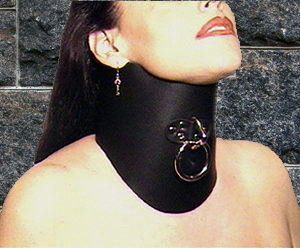 """471Leather Lined 6"""" Posture Collar"""