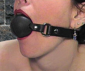 542Deluxe Solid Rubber Ball Gag