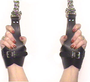 550 Fur Lined Comfort Restraints With D-Rings
