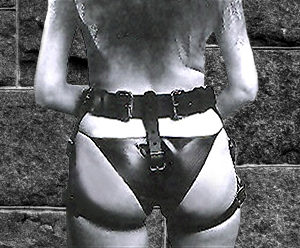 837 Female Spanking Harness
